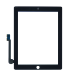 Touch Screen Digitizer Replacement for iPad 3/4 - Black