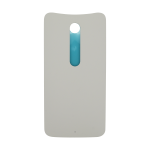 Motorola Moto X Pure Rear Battery Cover - White (Soft Plastic)