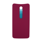 Motorola Moto X Style Rear Battery Cover - Raspberry (Soft Plastic)