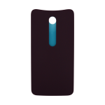 Motorola Moto X Pure Rear Battery Cover - Cabernet (Soft Plastic)