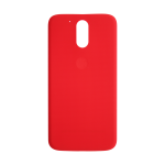Motorola Moto G4 and G4 Plus Rear Battery Cover - Lava Red