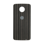 Motorola Moto Z Force Droid Back Cover - Charcoal Ash (Wood)