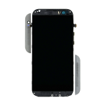 Gray HTC One (M8) Screen  Assembly with Frame