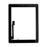 iPad 4 touch screen with home button -black premiulm