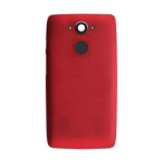 Motorola Droid Turbo Back Battery Cover Replacement - Metallic Red