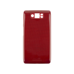 Red Motorola Droid Ultra XT1080 Back Battery Cover Replacement