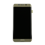 Samsung Galaxy S6 Edge+ (G928F) LCD & Touch Screen Frame & Small Parts - Gold