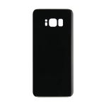 Rear Glass Battery Cover Replacement for Samsung Galaxy S8 Black