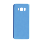 Rear Glass Battery Cover Replacement for Samsung Galaxy S8 Blue