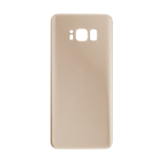 Rear Glass Battery Cover Replacement for Samsung Galaxy S8 Gold