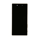 Sony Xperia Z5 LCD & Touch Screen Assembly with Frame - Gold