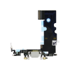 iPhone 8 Charging Port Assembly Silver Back