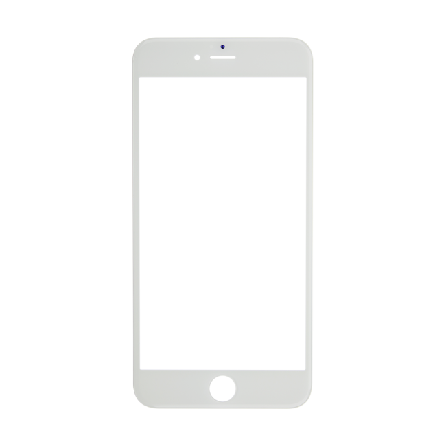 iPhone 6 Plus Glass Lens Screen & Frame - White