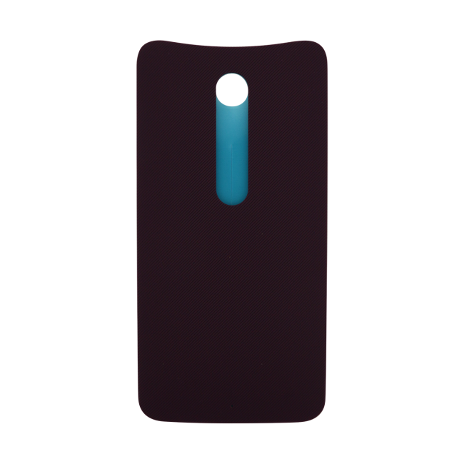 Motorola Moto X Style Rear Battery Cover - Cabernet (Soft Plastic)