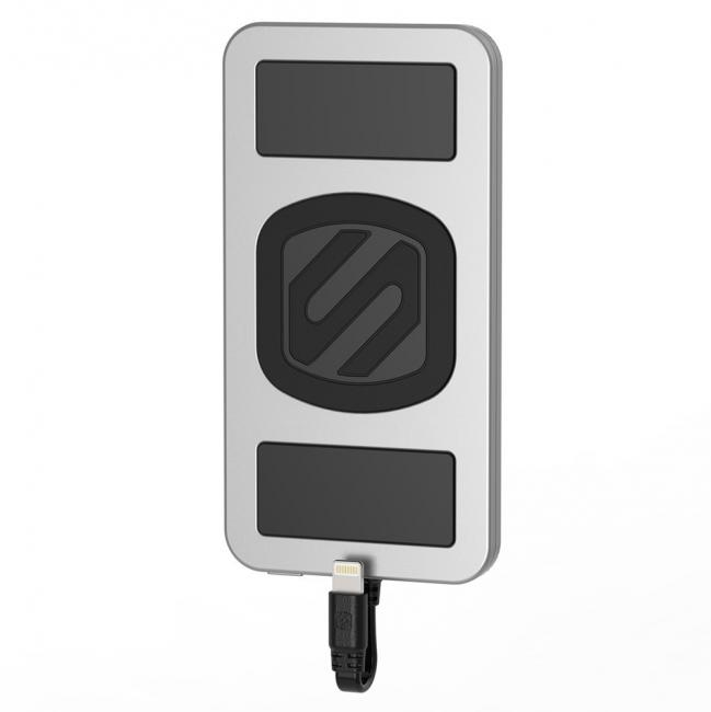 Scosche Magnetically Mounted Portable Power Bank for Lightning Devices