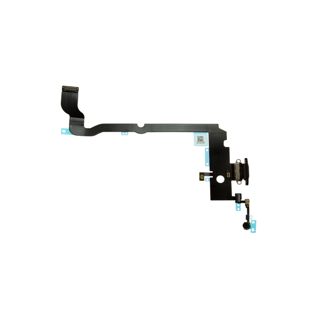iPhone Xs  Max Charging Port with flex cable - Space Gray
