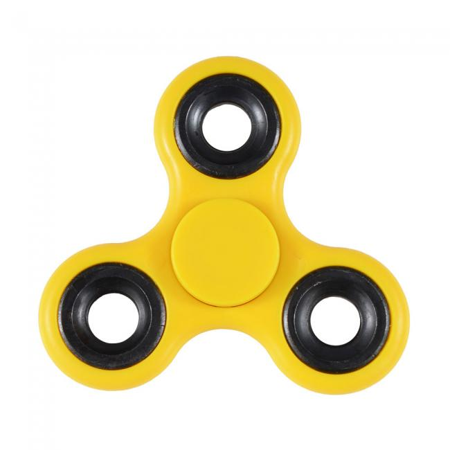 Hand Fidget Spinner - Yellow