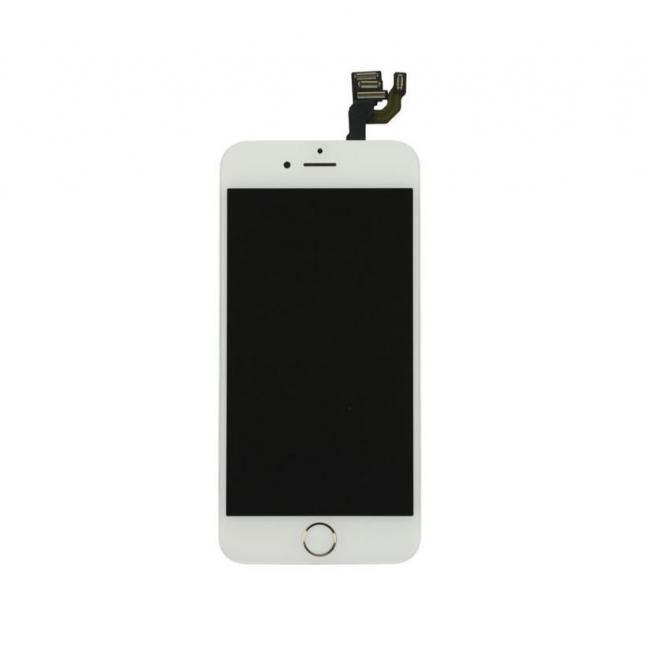 iPhone 6 LCD & Touch Screen Assembly with Small Parts - White/Gold