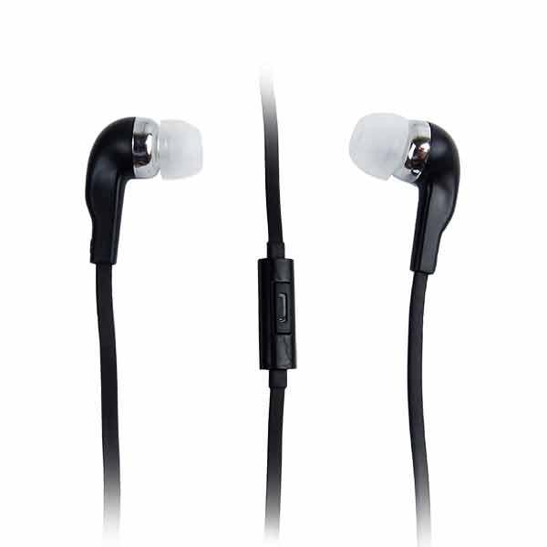 Hands Free Earbud Headphones - Black