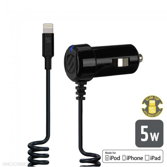 Scosche strikeDRIVE 5W Car Charger for Lightning™ Devices
