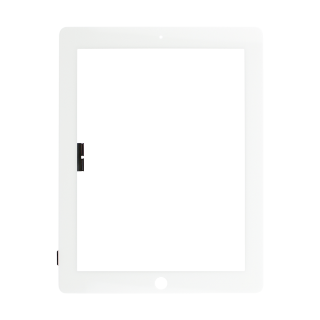 Touch Screen Digitizer Replacement for iPad 3/4 - White - Premium