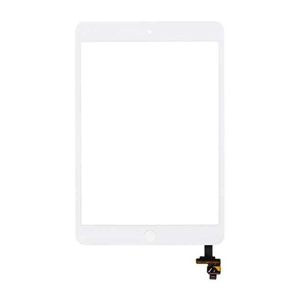 white ipad mini touch screen with ic chip