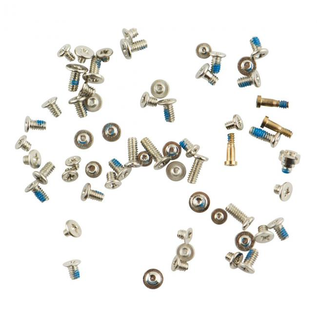 iPhone 6 Complete Screw Set - White/Gold
