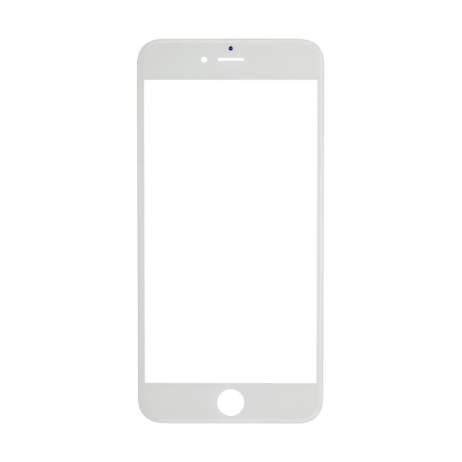 iPhone 6 Plus Glass Lens Screen & Frame - White (Cold Pressed)