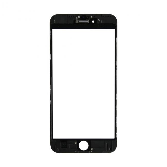 iPhone 6s Plus Glass Lens Screen & Frame - Black (Cold Pressed)