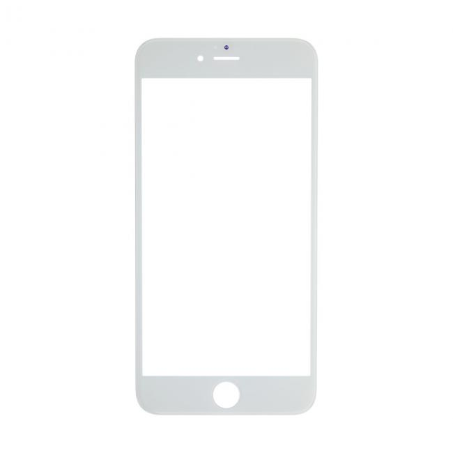 iPhone 6s Plus Glass Lens Screen & Frame - White (Cold Pressed)