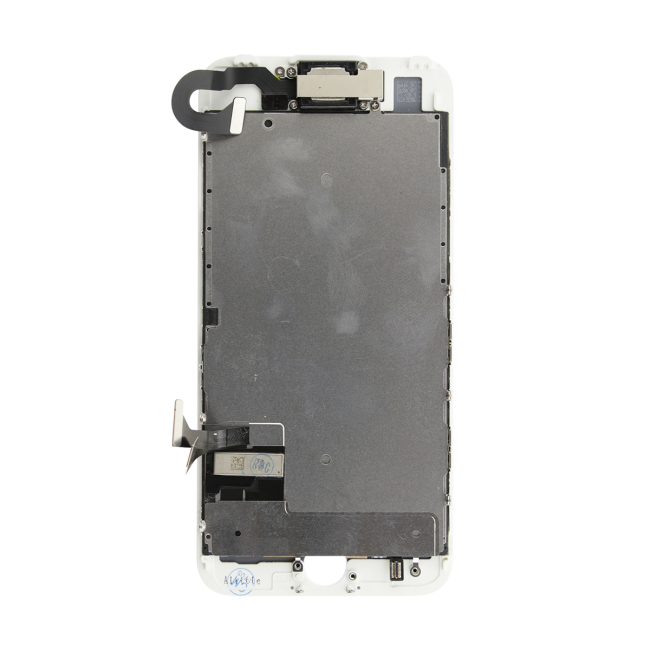 iPhone 7 LCD & Touch Screen Assembly with Small Parts - White