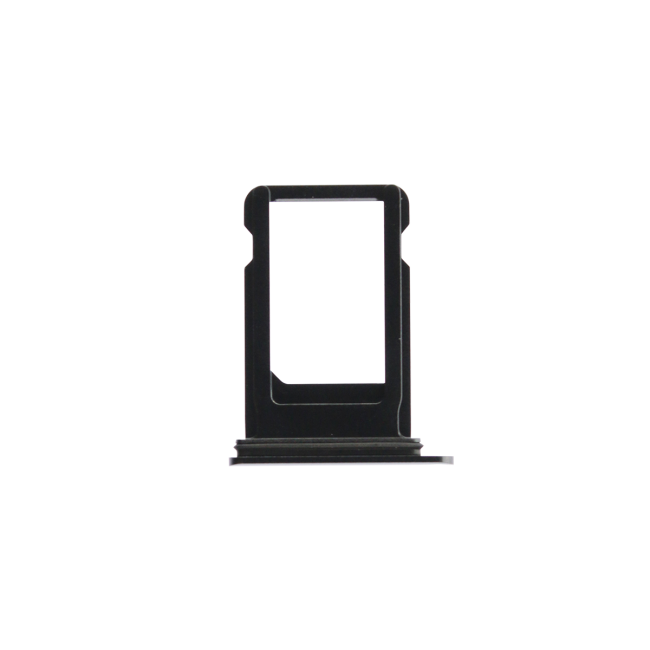 iPhone 8 Plus Sim Card Tray Black/Space Gray Back