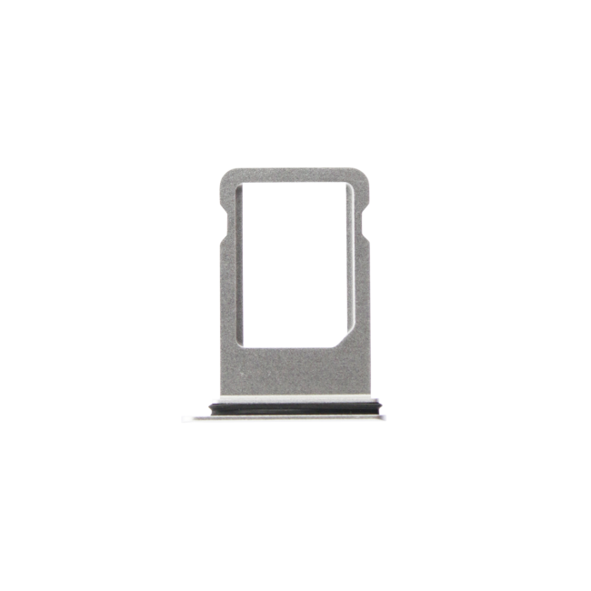 iPhone 8 Plus Sim Card Tray White/Silver Back