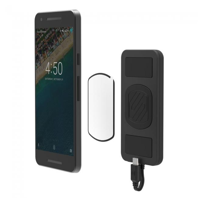 Scosche Magnetically Mounted Portable Power Bank for USB-C Devices