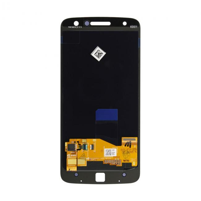 Black Motorola Moto Z Droid LCD & Touch Screen Assembly