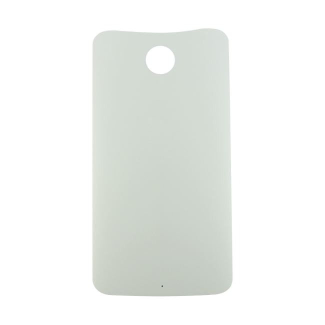 Motorola Nexus 6 Back Battery Cover Replacement - Cloud White