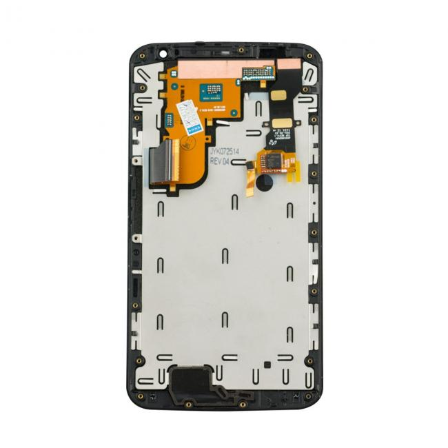 Motorola Nexus 6 LCD & Touch Screen Assembly + Frame