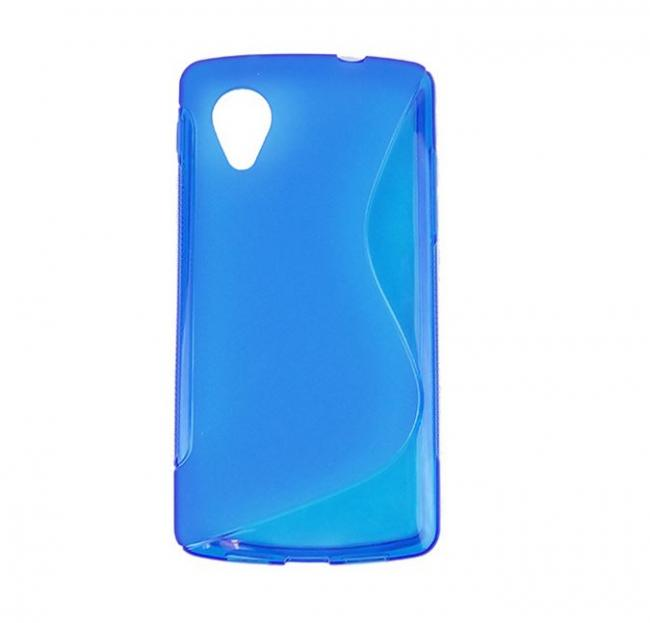 Google Nexus 5 Soft Case - Blue