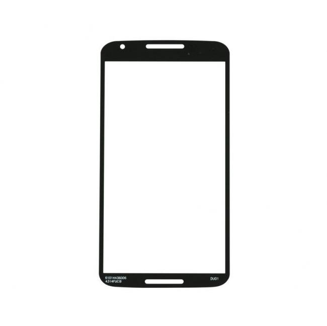 Motorola Nexus 6 Glass Lens Screen Replacement - Black
