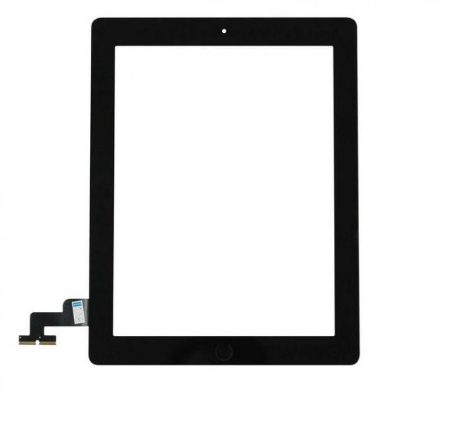 iPad 2 Touch Screen Digitizer & Home Button Assembly - Black