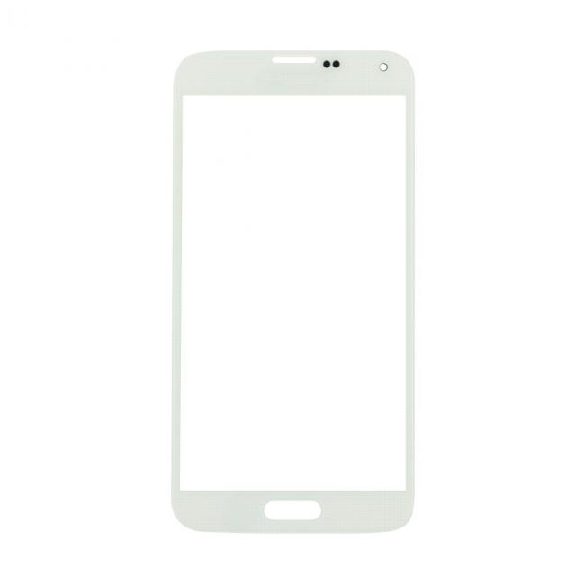 Samsung Galaxy S5 Glass Lens Screen Replacement - White