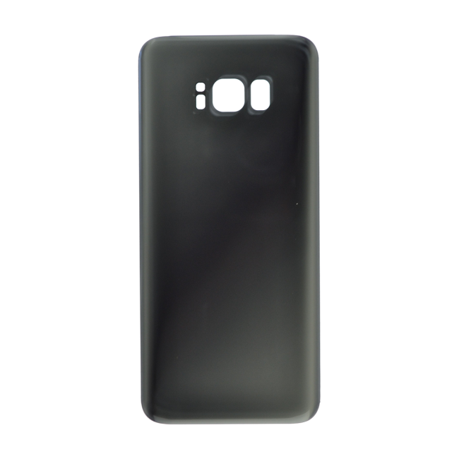 Rear Glass Battery Cover Replacement for Samsung Galaxy S8 Plus Silver
