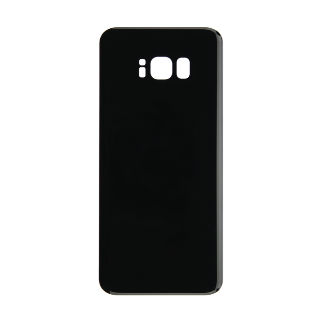 Rear Glass Battery Cover Replacement for Samsung Galaxy S8 Plus Black