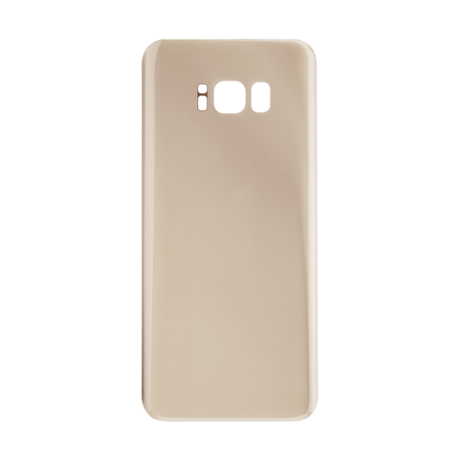 Rear Glass Battery Cover Replacement for Samsung Galaxy S8 Plus  Gold