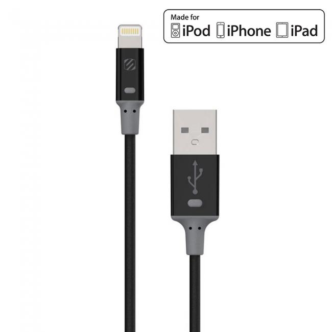 Scosche strikeLINE II Charge and Sync Cable for Lighting™ Devices