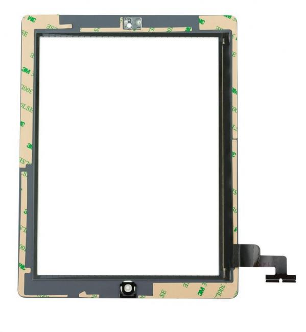 iPad 2 Touch Screen Digitizer & Home Button Assembly - White